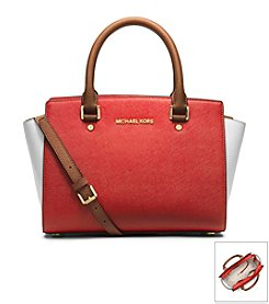 MICHAEL Michael Kors® Selma Medium Top Zip Satchel