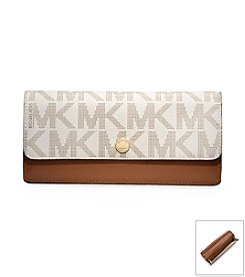 MICHAEL Michael Kors® Signature Flap Wallet