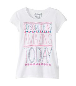Belle du Jour Girls' 7-16 Amazing Screen Tee