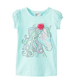 Beautees Girls' 4-6X Stud Horse Tee