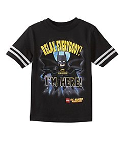 LEGO® Boys' 4-7 Batman Says Relax Tee