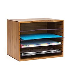 Lipper International File Box with Acrylic Dividers