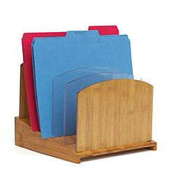 Lipper International Graduated File Organizer with Acrylic Dividers