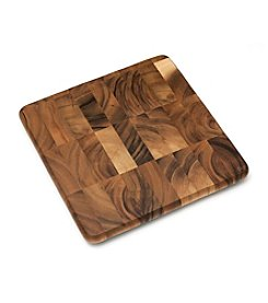 Lipper International Acacia Square Chopping Block