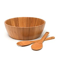 Lipper International Bamboo 3-pc. Salad Set