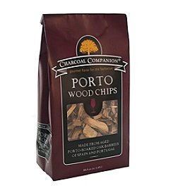 Charcoal Companion® Port Soaked Wood Chips