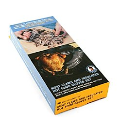 Charcoal Companion® Insulated Food Gloves and Meat Claws Set