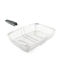 Charcoal Companion® Stainless Wire Mesh Grilling Basket