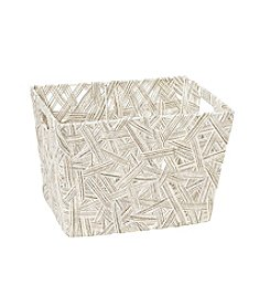 Simplify Natural Crazy Weave Tote