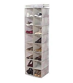 Laura Ashley® Winchester 16-Pocket Shoe Organizer