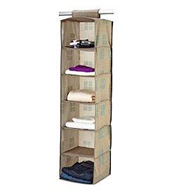 SedaFrance Cameo Key Taupe 6-Shelf Organizer