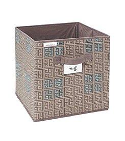 SedaFrance Cameo Key Taupe Storage Cube