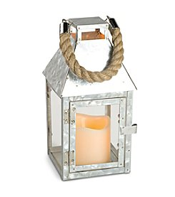 Gerson Glavanized Flameless LED Lantern