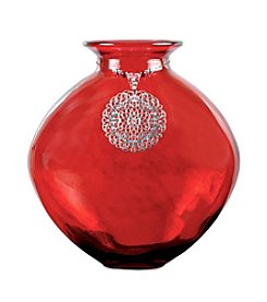 The Pomeroy Collection Red Celesta Vase