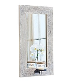 The Pomeroy Collection Mason Mirror And Candle Wall Sconce