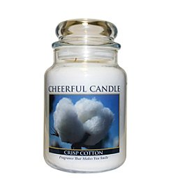 A Cheerful Giver Crisp Cotton Candle