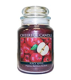 A Cheerful Giver Juicy Apple Candle