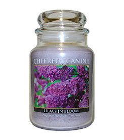 A Cheerful Giver Lilacs In Bloom Candle