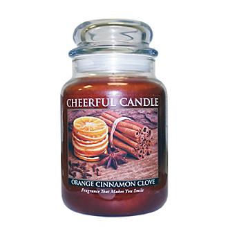 A Cheerful Giver 24 oz. Orange Cinnamon Clove Candle