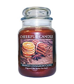A Cheerful Giver Orange Cinnamon Clove Candle