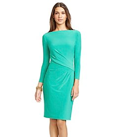 Lauren Ralph Lauren® Jersey Bateau Neck Dress