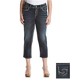 Silver Jeans Co. Plus Size Suki Capri