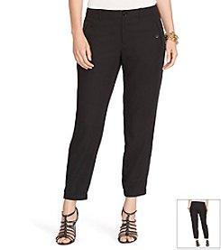Lauren Ralph Lauren® Plus Size Twill Skinny Pants