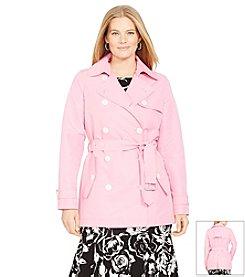 Lauren Ralph Lauren® Plus Size Double-Breasted Trench Coat
