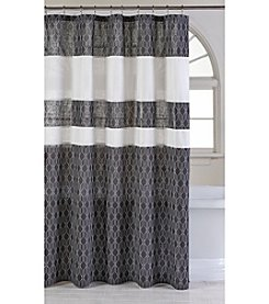 Parker Loft Huntington Pleated Shower Curtain