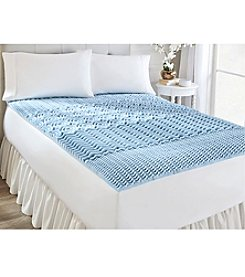 SleepBetter Isotonic® Five Zone Swirl Gel Mattress Topper