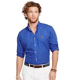 Polo Ralph Lauren® Men's Long Sleeve Solid Poplin