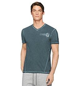 Calvin Klein Men's Short Sleeve Cold Pigment Dye Tee