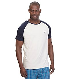 Nautica® Men's Short Sleeve Raglan Crew Neck Shirt