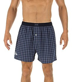 Tommy Hilfiger® Men's Buffalo Plaid Hanging Woven Boxer