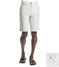 Dockers® Men's Tigers Eye Flat Front Oxford Short