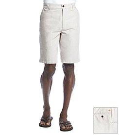 Dockers® Men's Tigers Eye Flat Front Oxford Short