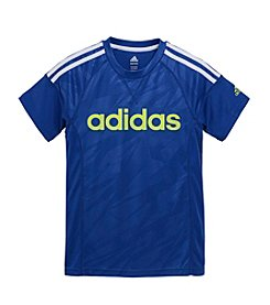 adidas® Boys' 8-20 Short Sleeve Linear Tee