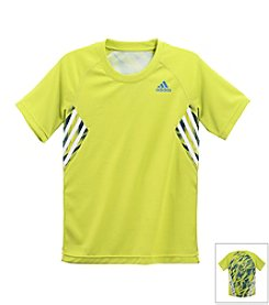 adidas® Boys' 8-20 Short Sleeve Shock Train Tee