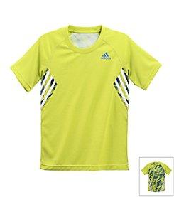 adidas® Boys' 8-20 Short Sleeve Shock Train Tee