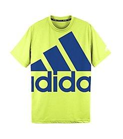 adidas® Boys' 8-20 Oversized Logo Tee