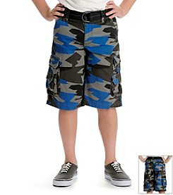 Lee® Boys' 8-18 Camo Cargo Shorts with Belt