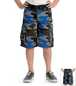 Lee® Boys' 8-18 Camo Cargo Shorts with Belt