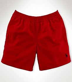 Ralph Lauren Childrenswear Boys' 2T-7 Solid Twill Shorts