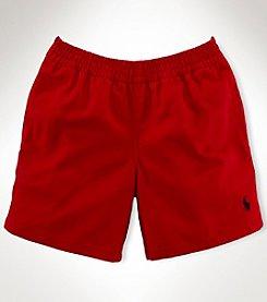 Ralph Lauren Childrenswear Boys' 2T-7 Solid Twill Shorts