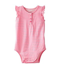 OshKosh B'Gosh® Baby Girls' Sleeveless Striped Bodysuit