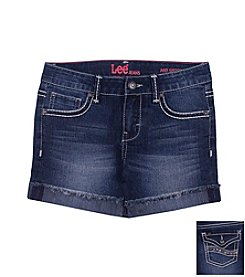 Lee® Girls' 2T-6X Flap Pocket Shorts