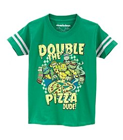 Nickelodeon® Boys' 4-7 Double The Pizza Tee