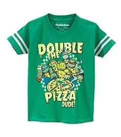 Nickelodeon® Boys' 4-7 Double The Pizza Tee