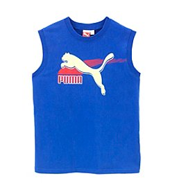 PUMA® Boys' 8-20 Cat Muscle Tank