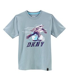 DKNY® Boys' 8-20 Short Sleeve Movement Tee